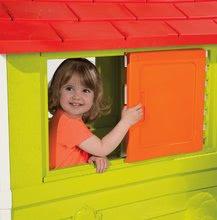 Domčeky pre deti - Domček Nature Smoby s UV filtrom bielo-zelený od 24 mes_2