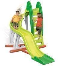 Dětská skluzavka U'Turn Smoby délka 3,8 m zelená