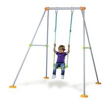 Detská hojdačka Portique Plus Smoby s kovovou konštrukciou výška 180 cm od 12 mesiacov