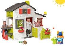 Set detský domček Priateľov Smoby s predzáhradkou a vedro set Hľadá sa Dory