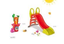 Skluzavky pro děti - Set skluzavka Toboggan KS Smoby s délkou 150 cm a pískoviště stolek na vodu a písek a rybářská udice od 24 měsíců_19