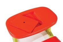 Detský záhradný nábytok - Stôl Piknik Smoby s úložným priestorom zeleno-červený od 24 mes_0