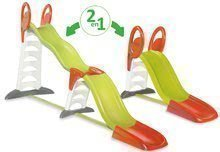 Šmykľavky sety - Set šmykľavka Toboggan Super Megagliss 2v1 Smoby dĺžka 3,75/1,5 m a Piknik stolík s dvoma stoličkami KidChair od 24 mes_8