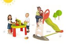 Šmykľavky sety - Set šmykľavka Toboggan XL Smoby s vodou dĺžka 230 cm a záhradný vozík Peppy s otočnými kolesami_18