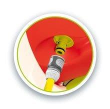 Skluzavky sety - Set 2 skluzavky střední Toboggan KS Smoby 150 cm s vodotryskem červená a tyrkysová od 2 let_8