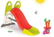 Skluzavky pro děti - Set skluzavka Toboggan KS Smoby s délkou 150 cm a pískoviště stolek na vodu a písek a rybářská udice od 24 měsíců_20