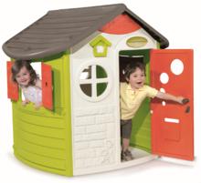 Domček pre deti Jura Lodge Smoby s dvoma dvierkami od 2 rokov