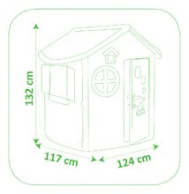 Domčeky pre deti - Domček Jura Lodge Smoby s dvoma dvierkami od 24 mes_4