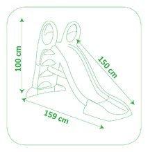 Skluzavky pro děti - Skluzavka Toboggan KS Smoby s vodou délka 1,5 m od 24 měsíců_4