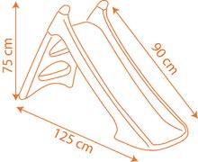 Šmykľavky pre deti  - Šmykľavka Lietadlá Smoby XS Toboggan s vodou dĺžka 90 cm od 24 mes_1