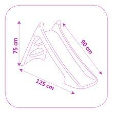 Šmykľavky pre deti  - Šmykľavka Minnie Mouse Smoby Toboggan XS s vodou dĺžka 90 cm od 24 mes_1