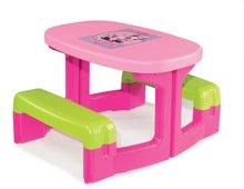 Detský záhradný nábytok sety - Set stôl Minnie Piknik Smoby a šmykľavka Minnie Toboggan XS s vedro setom Daisy od 24 mes_0