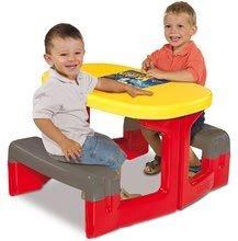 Detský záhradný nábytok - Stôl Autá Piknik Smoby s úložným priestorom od 24 mes_1