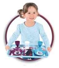Nádobí a doplňky do kuchyňky - Jídelní tác s jídelní soupravou Frozen 2 Disney Smoby a 21 doplňků_0