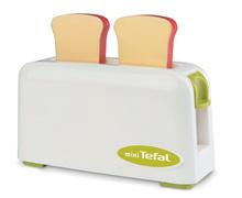 Spotrebiče do kuchynky - Set toaster Mini Tefal Smoby tlakový hrniec Tefal, potraviny v sieťke a varič s hrncami_0