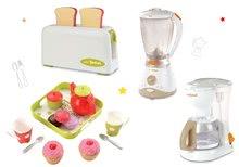 Set toaster Mini Tefal Smoby kávovar Tefal, mixér Tefal a čajový set Cheef Cook