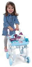 Obchody pre deti sety - Set kaviareň s Espresso kávovarom Coffee House Smoby a servírovací vozík Frozen XL Tea Trolley_6