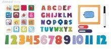 Magnetky pre deti - Magnetická tabuľa Triptik Magnetic Board Janod od 5 rokov_1