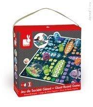 Cudzojazyčné spoločenské hry - Spoločenská hra Ludo Space Monster Game&Puzzle Janod v angličtine od 3 rokov_0