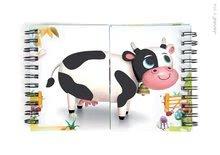 Cudzojazyčné spoločenské hry - Spoločenská hra Zoonimooz Cow Speed Game Janod v angličtine od 4 rokov_3