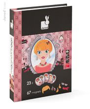 Magnetky pre deti - Magnetická kniha Mademoiselle Large Magneti'Book Janod 23 kariet_0