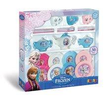 Kuchynky pre deti sety - Set kuchynka Frozen Smoby s trblietkami a veľká čajová súprava Frozen_10