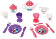 Kuchynky pre deti sety - Set kuchynka Frozen Smoby s trblietkam a čajová súprava na servírovacom vozíku_7