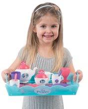 Kuchynky pre deti sety - Set kuchynka Frozen Smoby s trblietkam a čajová súprava na servírovacom vozíku_6