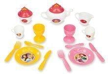Kuhinje za djecu setovi - Set kuhinja Disney Princeze Smoby sa satom i čajni servis na kolicima_7