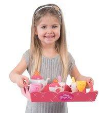 Kuhinje za djecu setovi - Set kuhinja Disney Princeze Smoby sa satom i čajni servis na kolicima_6