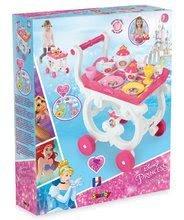Kuhinje za djecu setovi - Set kuhinja Disney Princeze Smoby sa satom i čajni servis na kolicima_13
