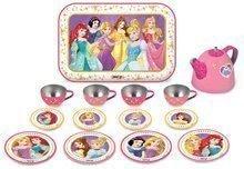 Detská čajová súprava z plechu Princezné Disney Smoby 14 dielov 310560 ružová
