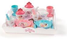 Posuđe i dodaci za kuhinju - Poslužna kolica Princeze XL Tea Trolley Smoby ružičasta sa 17 dodataka_4