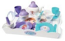 Kuchynky pre deti sety - Set kuchynka Frozen Smoby s trblietkami a čajová súprava Frozen na tácke_6