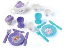 Kuchynky pre deti sety - Set kuchynka Frozen Smoby s trblietkami a čajová súprava Frozen na tácke_8