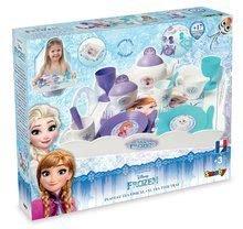 Kuchynky pre deti sety - Set kuchynka Frozen Smoby s trblietkami a čajová súprava Frozen na tácke_11