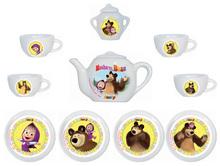 Smoby porcelánová čajová súprava Máša a medveď 12 dielov 310581