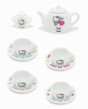 Kozmetične mizice kompleti - Komplet kozmetična mizica s stolčkom Hello Kitty Smoby s porcelanastim čajnom setom_9