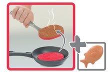 Obyčajné kuchynky - Kuchynka Mini Chef Smoby v kufríku s opečenými potravinami a 17 doplnkami_0