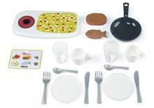 Obyčajné kuchynky - Kuchynka Mini Chef Smoby v kufríku s opečenými potravinami a 17 doplnkami_1