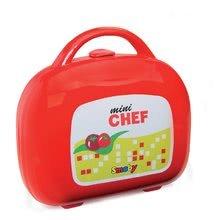 Obyčajné kuchynky - Kuchynka Mini Chef Smoby v kufríku s opečenými potravinami a 17 doplnkami_2