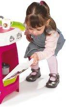 Kuchynky pre deti sety - Set kuchynka Máša a medveď Smoby hlboký kočík pre bábiku (58 cm rúčka) a bábika so šatôčkami od 18 mes_1