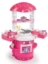Kuchynka pre deti Princezné Ma Premier Smoby s krídelkami a 17 doplnkami od 18 mesiacov ružová