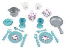Obyčejné kuchyňky - Kuchyňka pro nejmenší Hello Kitty Cooky Smoby s 17 doplňky od 18 měsíců_0