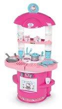 Obyčejné kuchyňky - Kuchyňka pro nejmenší Hello Kitty Cooky Smoby s 17 doplňky od 18 měsíců_2