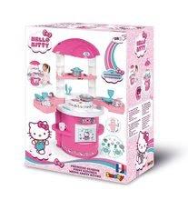 Obyčejné kuchyňky - Kuchyňka pro nejmenší Hello Kitty Cooky Smoby s 17 doplňky od 18 měsíců_3