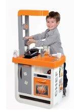 Obchody pro děti sety - Set kavárna s Espresso kávovarem Coffee House Smoby a kuchyňka Bon Appétit Chef oranžová_19