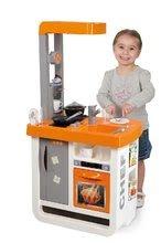 Obchody pro děti sety - Set kavárna s Espresso kávovarem Coffee House Smoby a kuchyňka Bon Appétit Chef oranžová_5