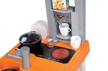 Obchody pro děti sety - Set kavárna s Espresso kávovarem Coffee House Smoby a kuchyňka Bon Appétit Chef oranžová_6