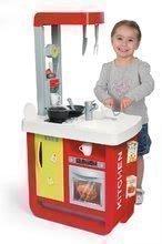 Kuchynky pre deti sety - Set kuchynka Cherry Special Smoby so zvukmi a kávovarom a upratovací vozík s vysávačom_0